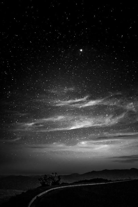 Nightfall at Dantes View