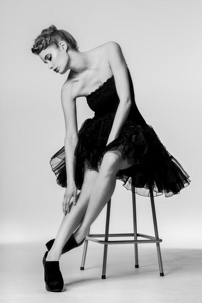 Model Doris Mallit, muah Minja Kuismanen