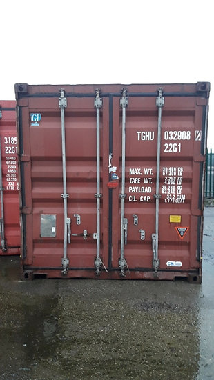 CAIU-759 A 20FT USED SHIPPING CONTAINER