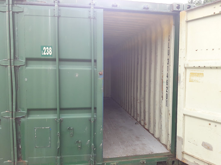L-238 A 20FT USED SHIPPING CONTAINER
