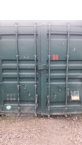 SA-84 USED 10FT SHIPPING CONTAINER