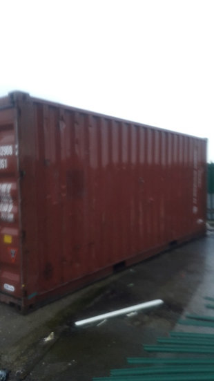 TGHU-908 A USED 20FT SHIPPING CONTAINER