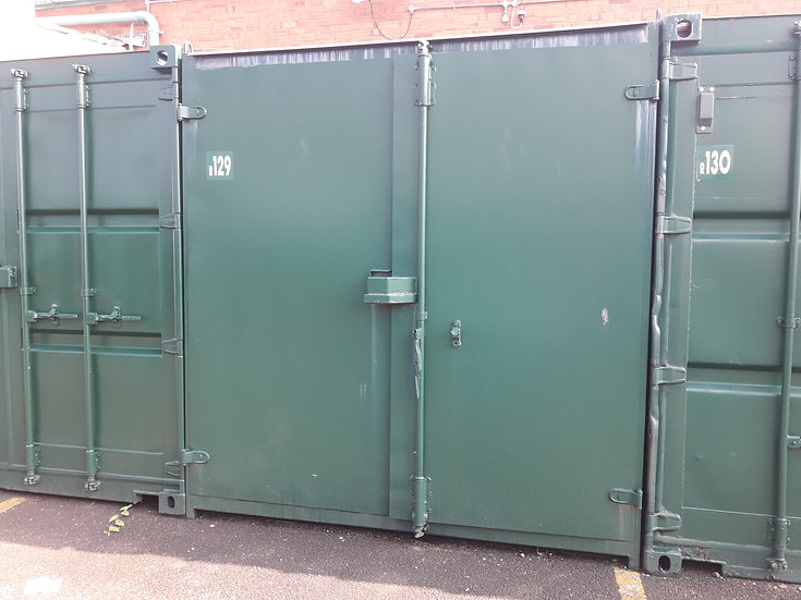 R-129 10FT USED SHIPPING CONTAINER