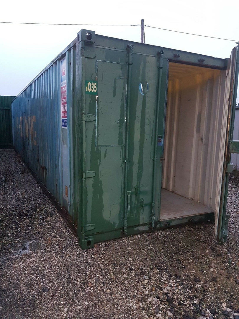 buy used storage container