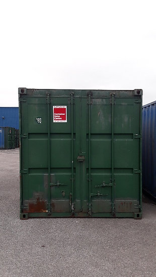 L-093 A 40FT USED SHIPPING CONTAINER