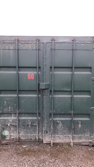 SA-80 A USED 10FT SHIPPING CONTAINER