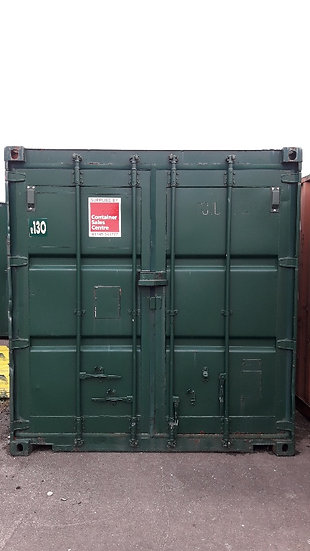 CR-130 A 10FT USED SHIPPING CONTAINER