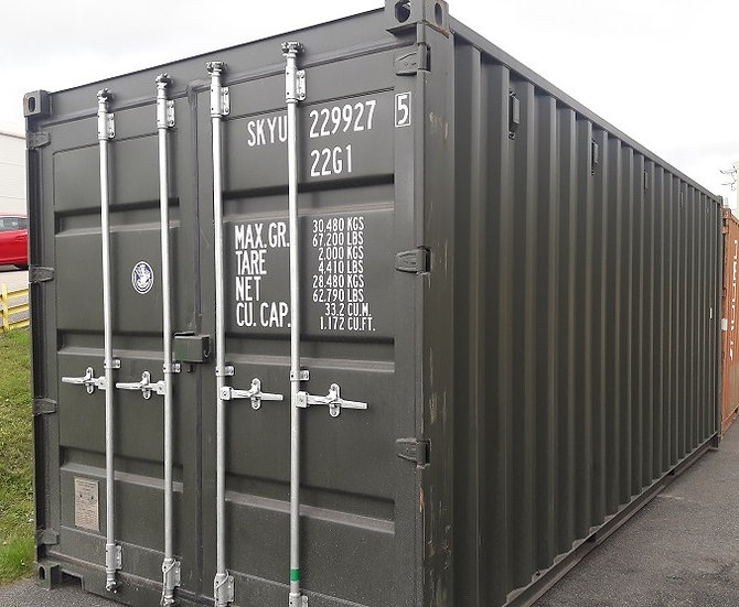 NEW001 - 20FT Shipping container
