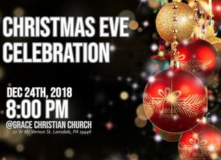 성탄절 전야 행사 및 예배 Christmas Eve Celebration and Service
