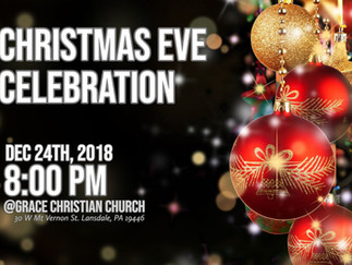 성탄절 전야 행사 및 예배 Christmas Eve Celebration and Service
