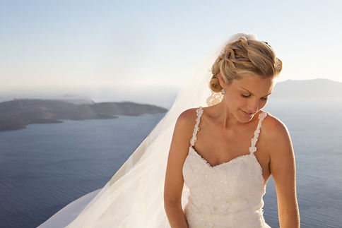 Santorini Bridal & Wedding Hair & Make-up
