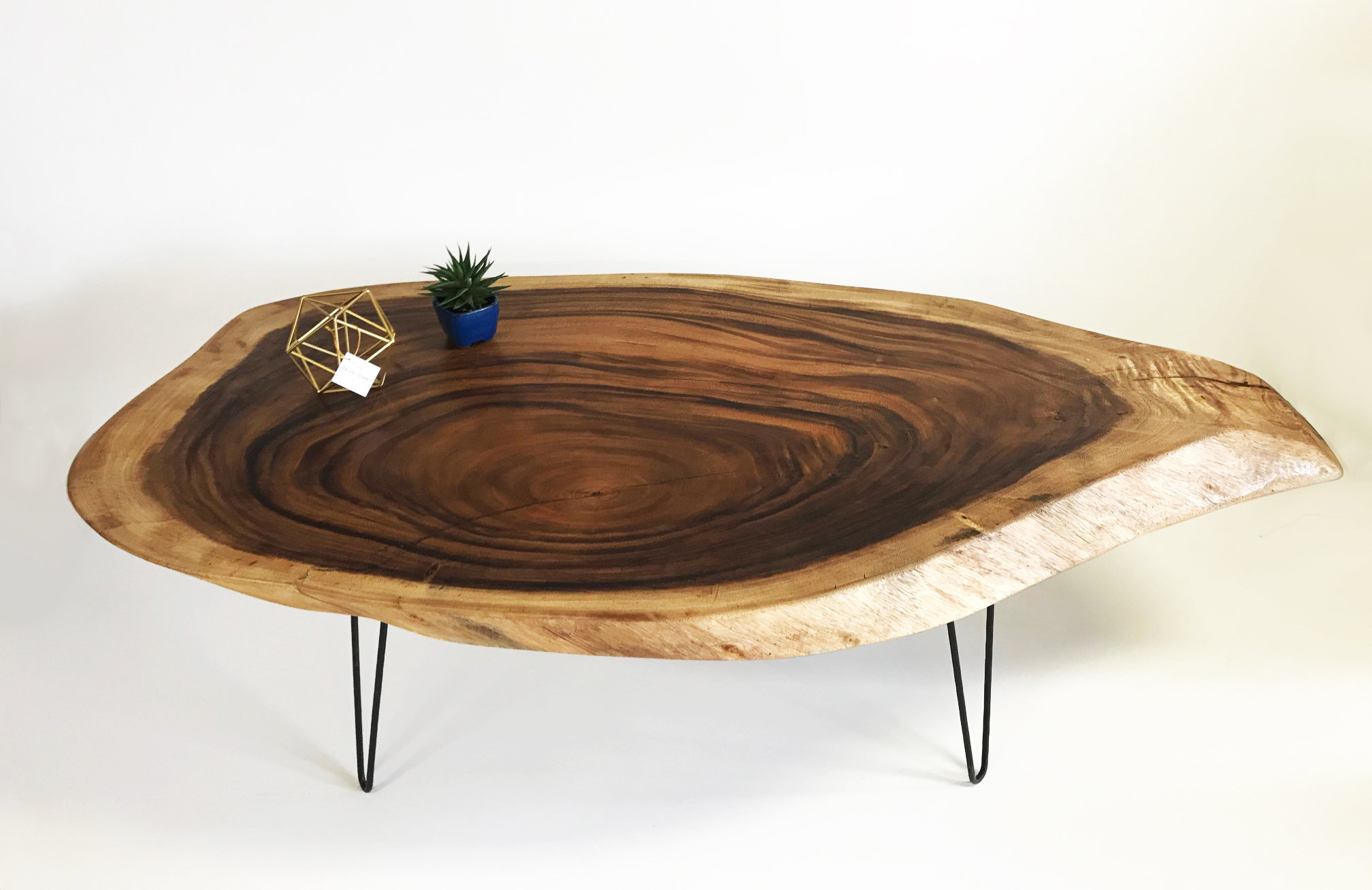Picture of: 3 Live Edge Solid Acacia Wood Coffee Table Boxworkshop