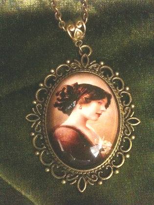 Victorian Lady Necklace by Velvet Stuff