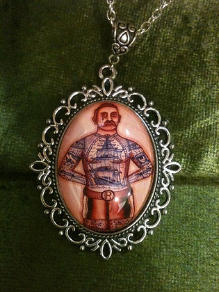 Ramon Maiden Tattooed Gent Necklace