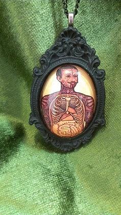 Ramon Maiden Anatomical Man Necklace