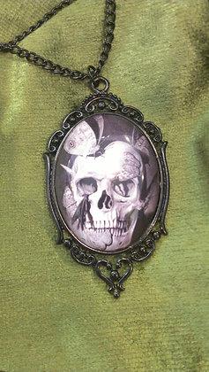 Moth Skull Neacklace by Velvet Stuff