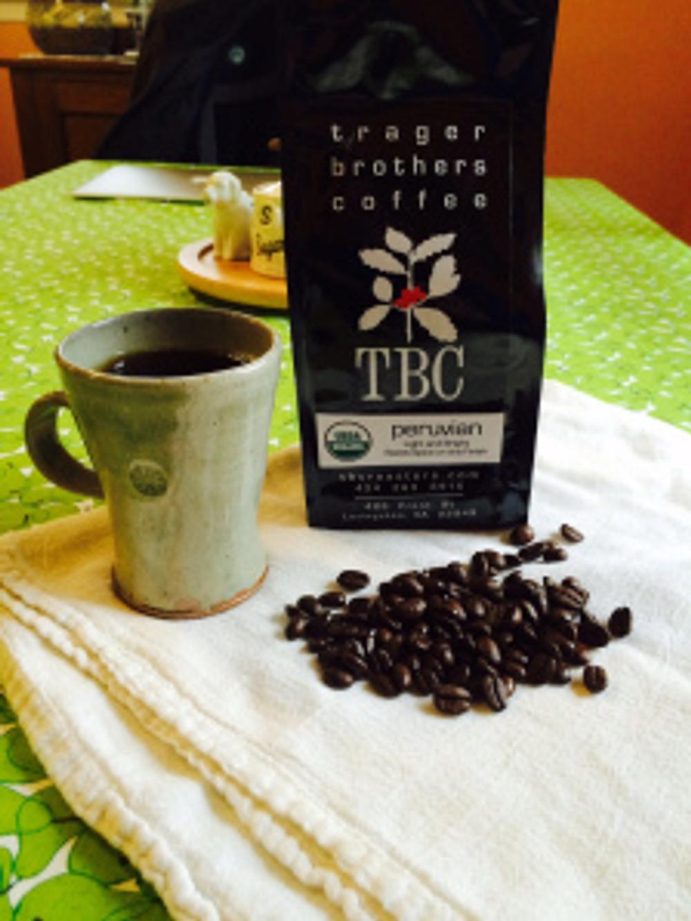 Trager Brothers Peruvian Organic Coffee