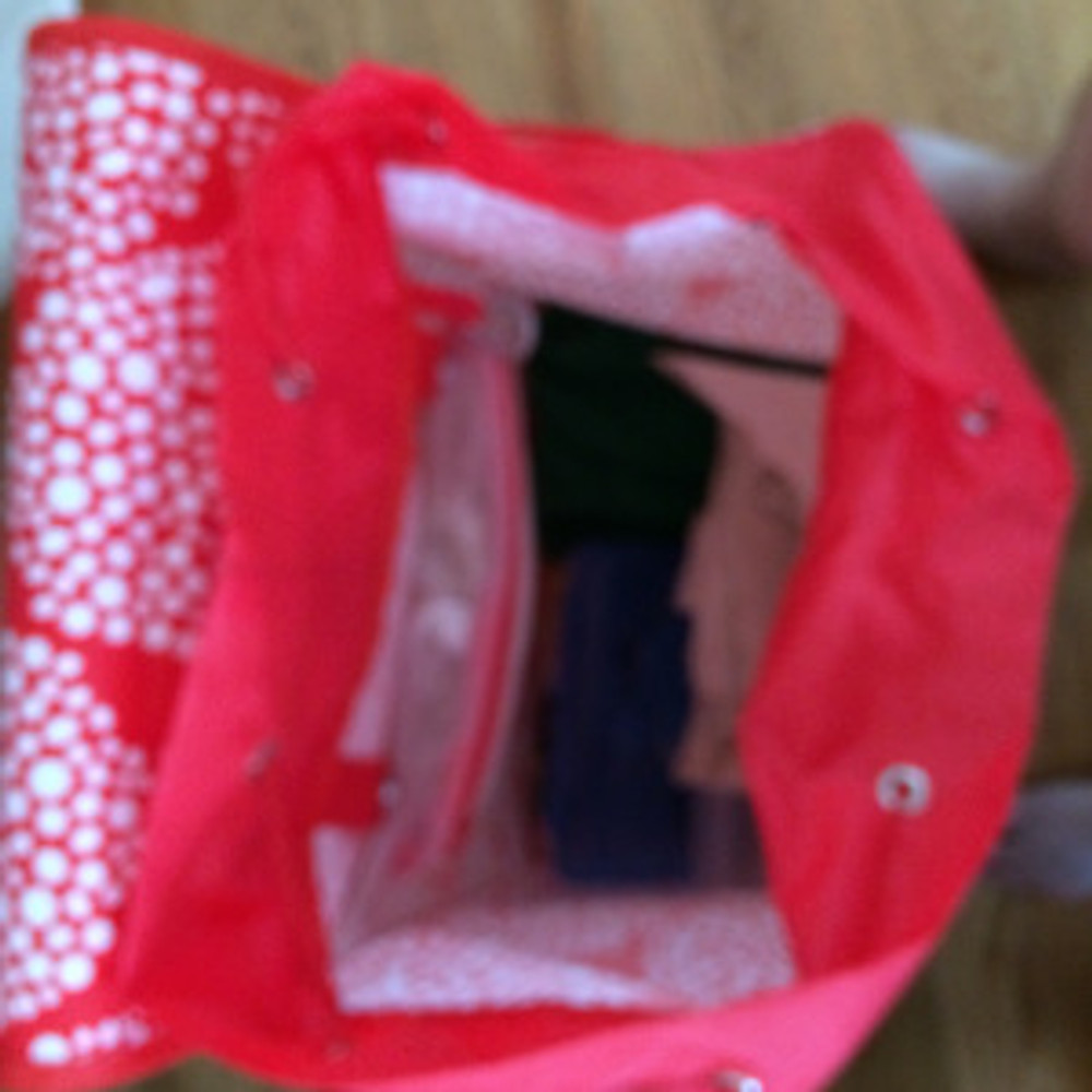 KNALLA Shopping Bag Draw String Top
