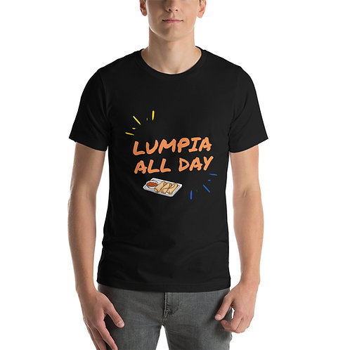Unisex t-shirt Lumpia all day