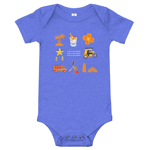 Baby short sleeve one piece Philippines places