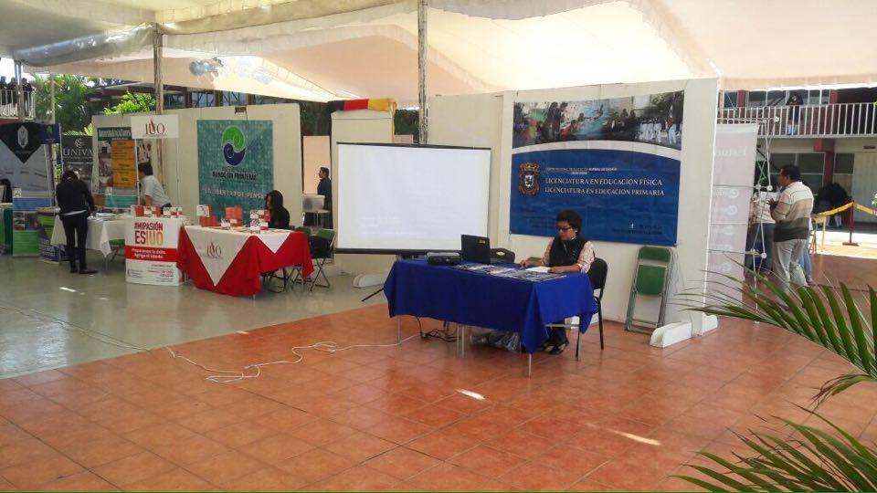 Expo orienta 2016 CBTIS 123