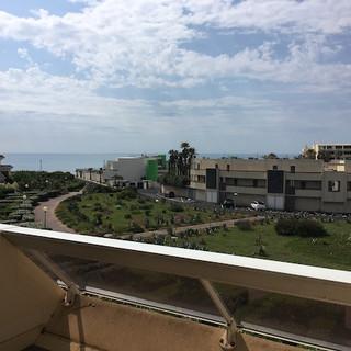 Terrasse, vue sur mer