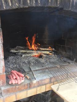 Terrasse & barbecue extérieur