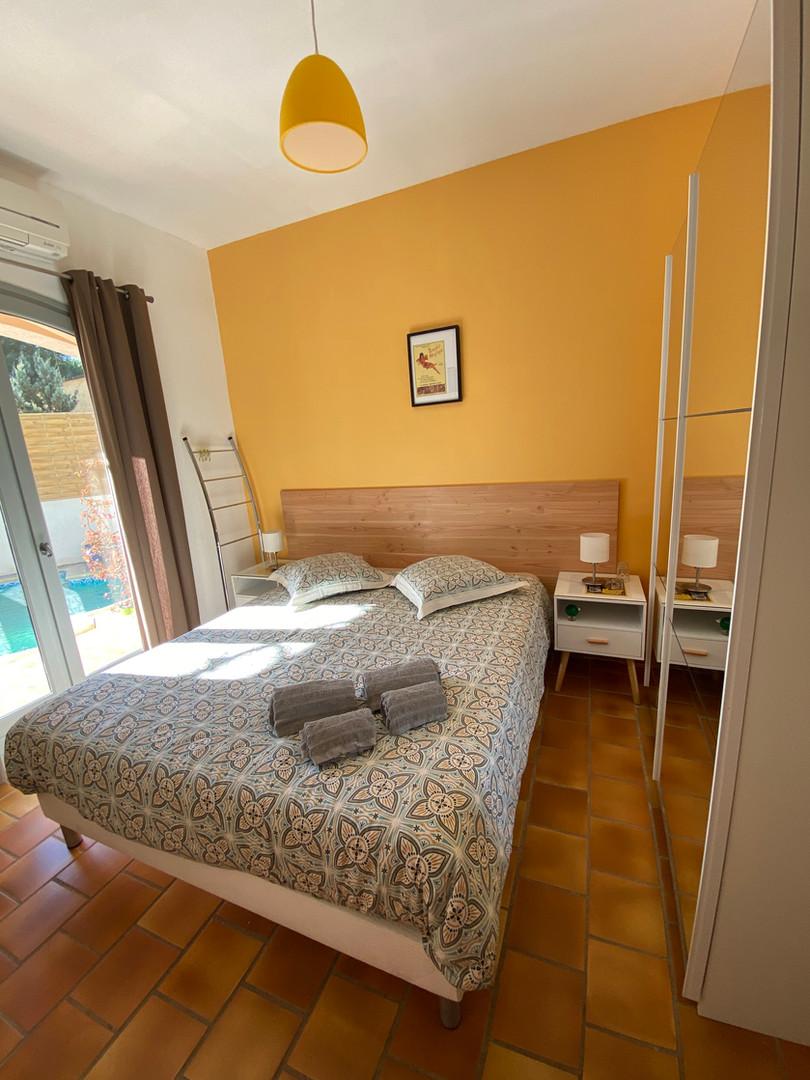 Villa PaulAna chambre Bas-Jaune