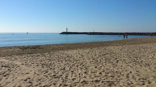 la plage naturiste en hivers