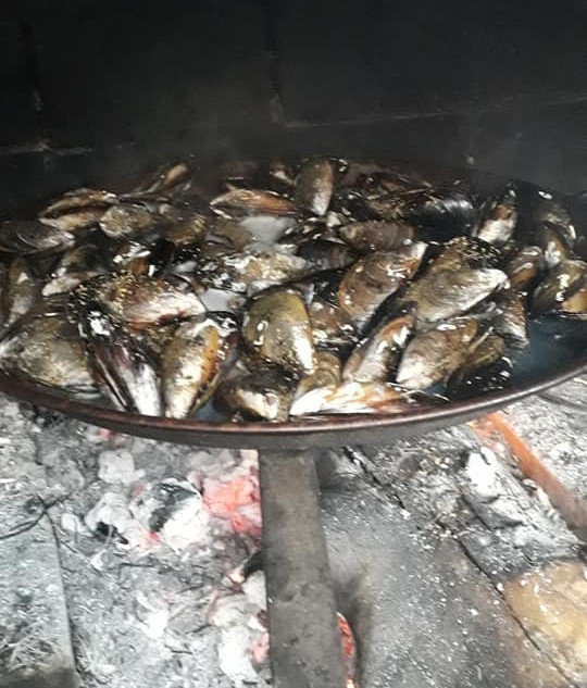 Villa PaulAna barbecue moules