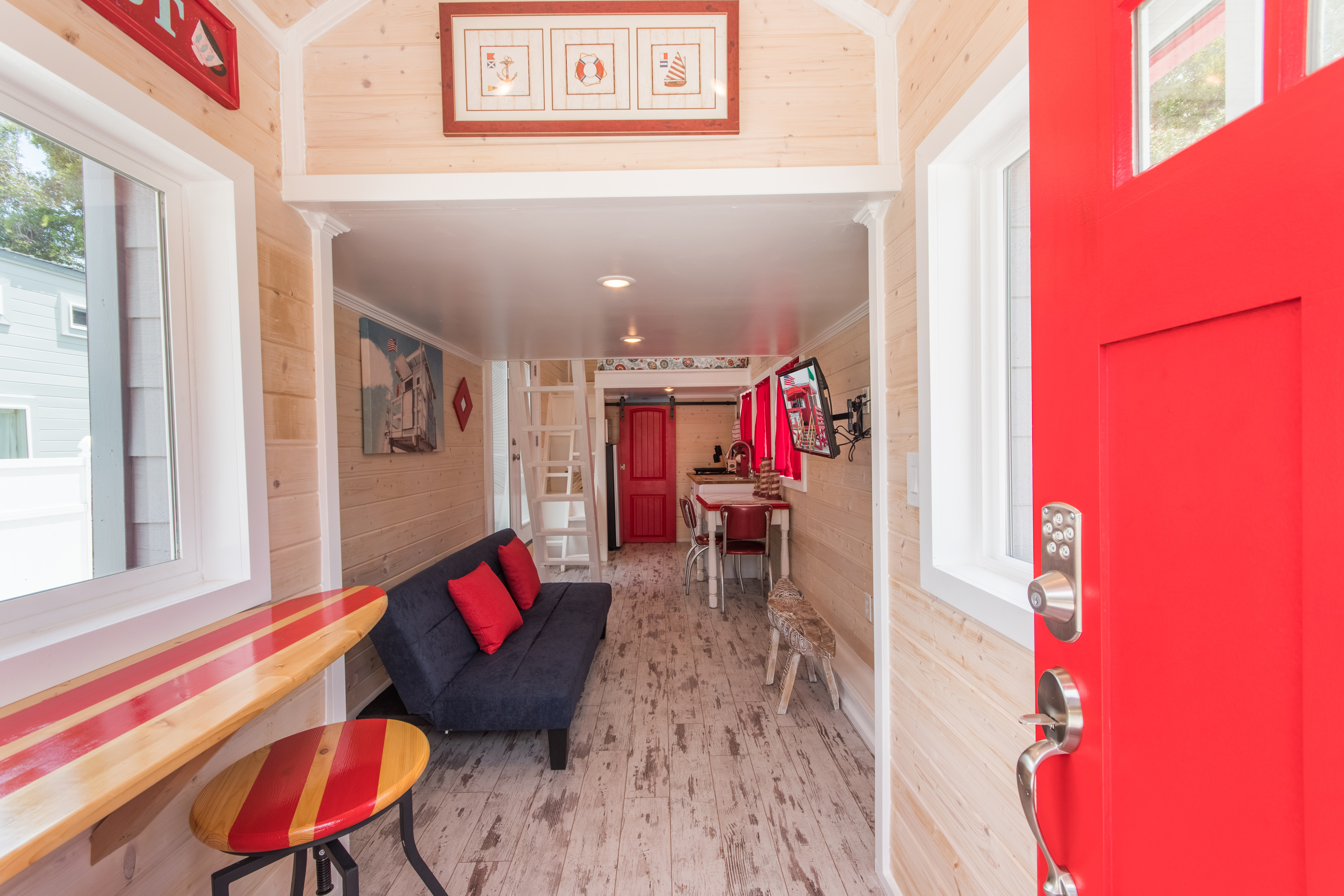 TinyHouse-RedLifeguard-2TV