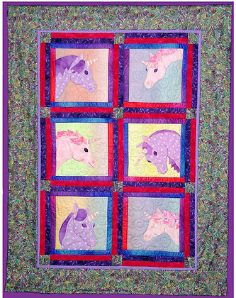 Day Dream Believer  FYT 302 Applique Quilt Pattern