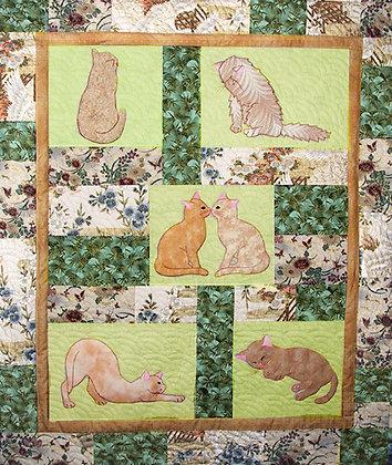 Purrsonalities  FYT404  Applique Quilt Pattern
