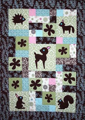 Forest Friends  FYT 903                      Applique Quilt Pattern