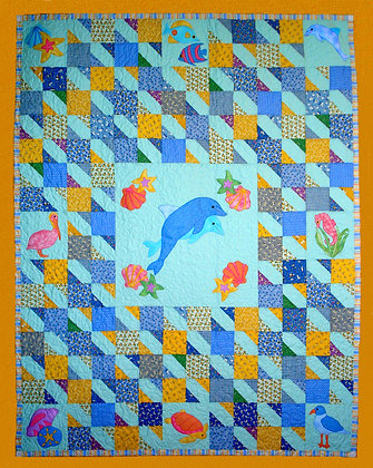 By The Sea  FYT 504  Applique Quilt Pattern