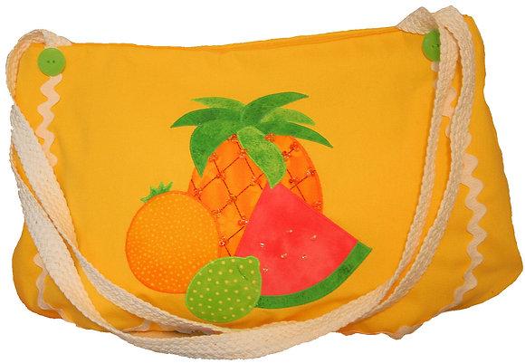 Tropical Fruit Bag FYT 921 Applique Bag / Purse Pattern
