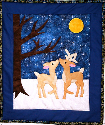 First Kiss FYT 957  Applique Quilt Pattern