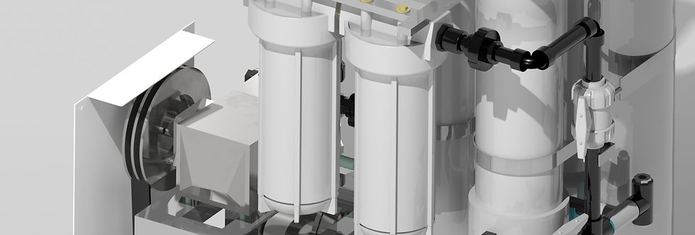 Saltflux Laboratory Desalination Unit