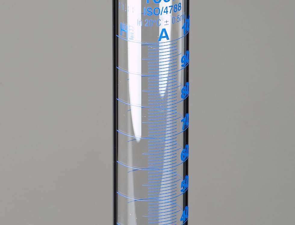 Measuring Cylinder with Round Base, Class-A, DIN/ISO