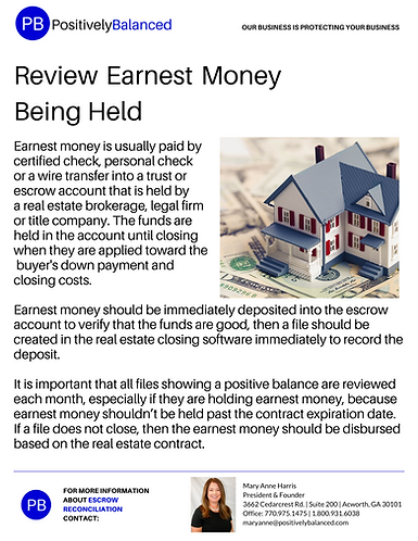 Review Earnest Money Being Held.png