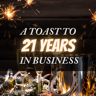 21 Years in Business
