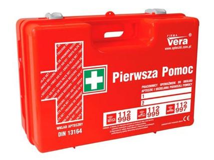 Zestawy pierwszej pomocy i apteczki