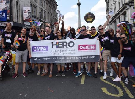 LGBT HERO at Pride in London decision