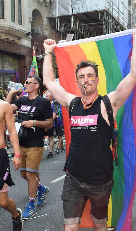LGBT volunteer