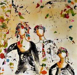 Aquarelle & collage