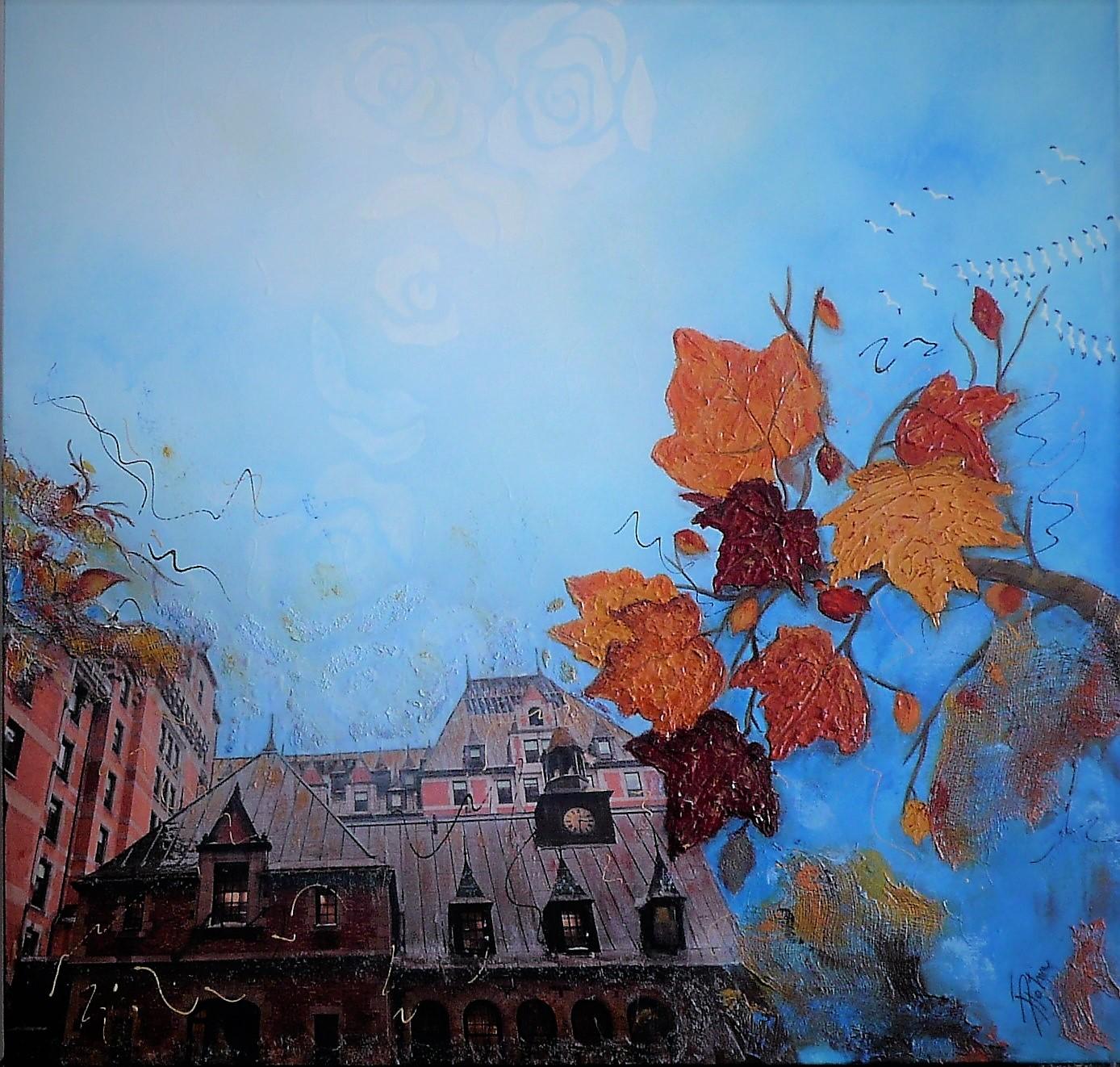 Château Frontenac à l'automne