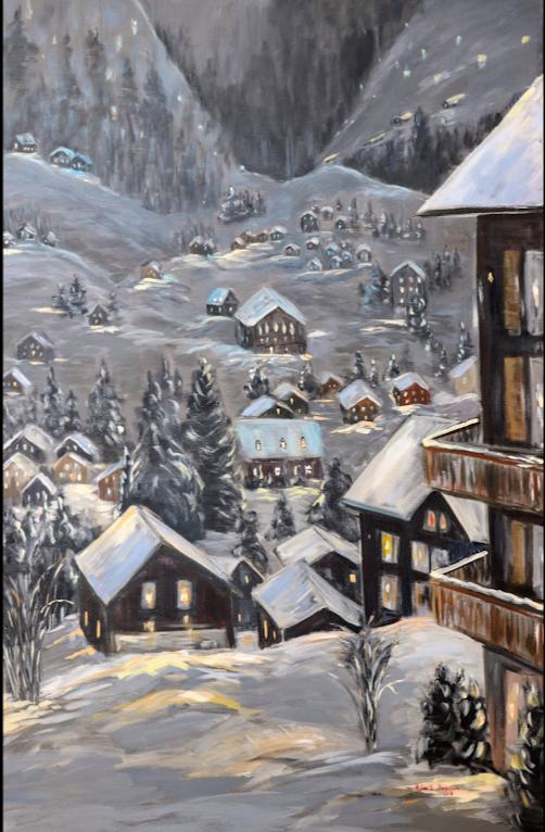Douce nuit hivernale