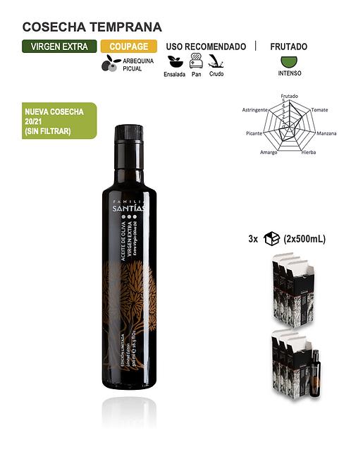 6 uds. x 500 ml (14,00 €/L) Gast. envío Incl.
