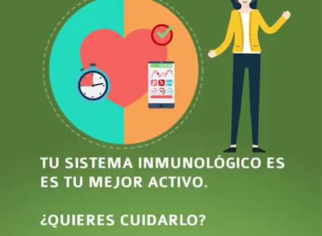¿Quieres cuidar tu sistema inmunológico?