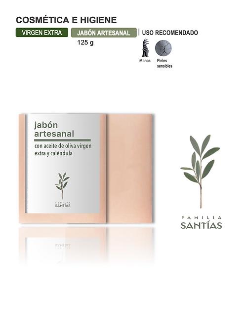 Jabón con AOVE y Caléndula (125 g) Gast. envío Incl.